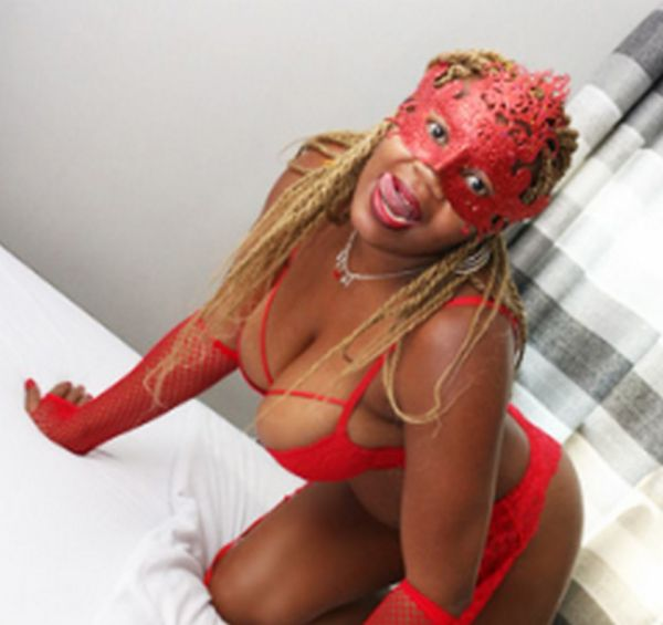 Lady in red, +27 676 418 217